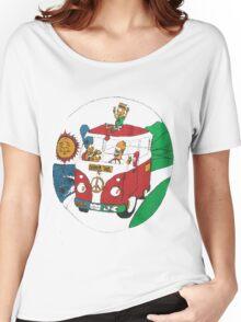 BOOTLEG BART // HIPPIE HOMER Women's Relaxed Fit T-Shirt