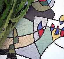 Mosaic Cesar Manrique by Franglais