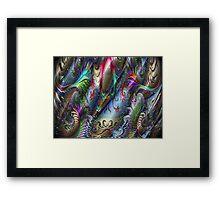 The Wizard of Metallurgy Framed Print