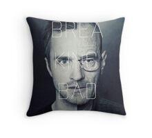 Walt and Jessie - Split Personality. Throw Pillow