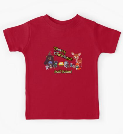 Woodland Critter Christmas Kids Tee