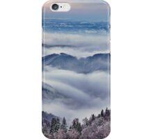 Mountain winter landscape iPhone Case/Skin