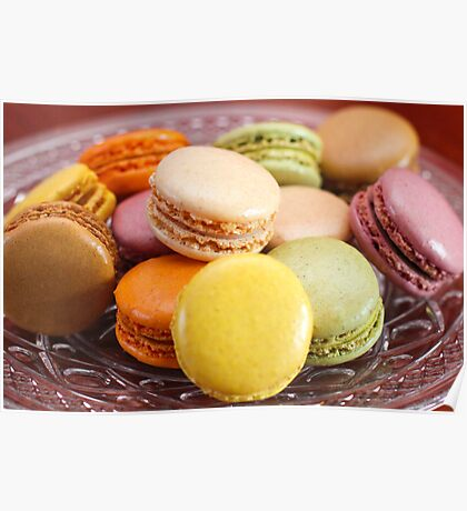 French Macaroons for Dessert Poster
