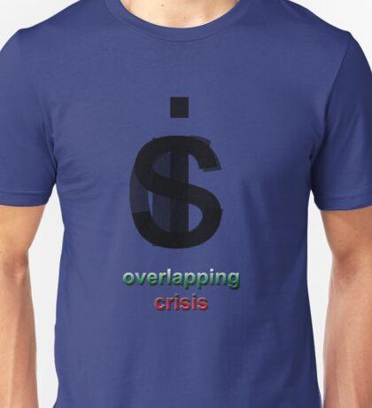 Crisis overlapping Unisex T-Shirt