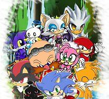 Sonic chibi by Goombasmasher1