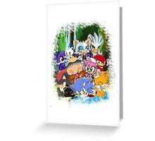 Sonic chibi Greeting Card