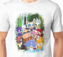 Sonic chibi Unisex T-Shirt