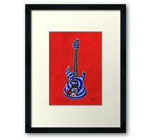 Dormouse Guitar Framed Print