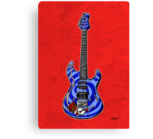 Dormouse Guitar Canvas Print