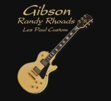 Gibson Randy Rhoads LPC decoration Clothing & Stickers by goodmusic