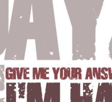 DayZ Bell Sticker