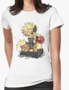 AJ PonyROCK Womens Fitted T-Shirt