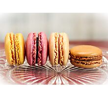 French Macaroons Photographic Print