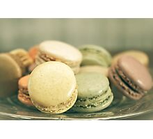 French Macaroon Photographic Print