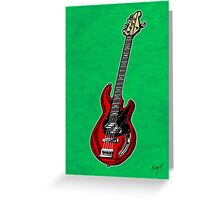 March Hare Bass Greeting Card