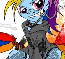 Rainbow PonyROCK Sticker