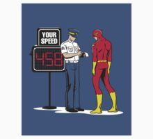 Flash Speeding Ticket by mvettese