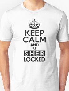 Sherlock - Keep Calm And Be SherLocked T-Shirt