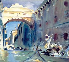 John Singer Sargent – The Bridge of Sighs by William Martin