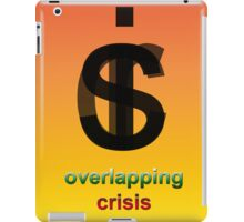 Crisis overlapping iPad Case/Skin