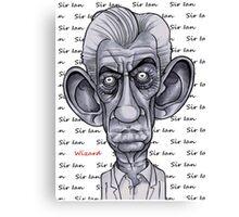 Sir Ian Canvas Print