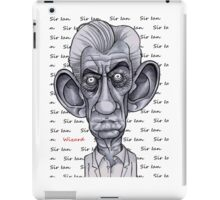 Sir Ian iPad Case/Skin