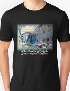John Singer Sargent – The Bridge of Sighs T-Shirt