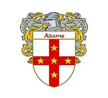 Adams Coat of Arms/Family Crest Photographic Print
