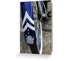 Banff Bike Greeting Card