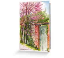 Judas Tree at Giverny, France Greeting Card