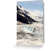Glacier Blue Greeting Card