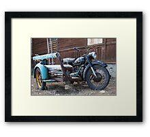 Vintage Sidecar Framed Print