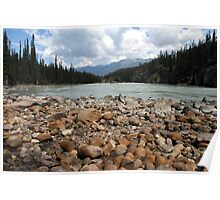 Athabasca River II Poster