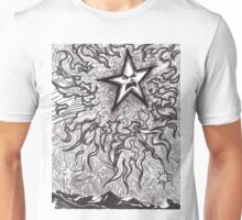Angry Star Unisex T-Shirt