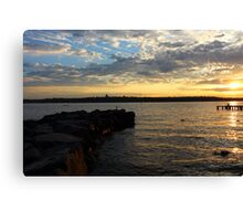 Lake Washington Canvas Print