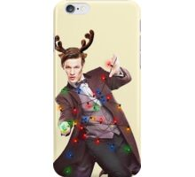 Holiday Eleventh Doctor iPhone Case/Skin