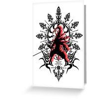 Blazblue: Hakumen Greeting Card