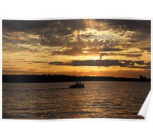 Lake Washington Poster