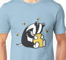 Badgers Like Honey Too Unisex T-Shirt