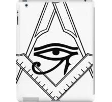 Illuminati Eye Masonic Compass Symbol iPad Case/Skin