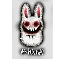 TheBunnyFromHell Photographic Print