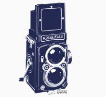 Vintage camera One Piece - Short Sleeve