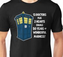 50 Years, 13 Doctors (2) Unisex T-Shirt