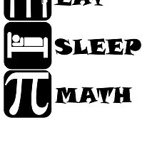 Eat Sleep Math by kwg2200