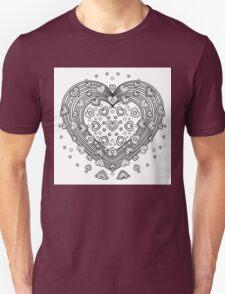 Lovely Heart Unisex T-Shirt