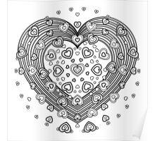 Lovely Heart Poster