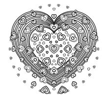 Lovely Heart Photographic Print
