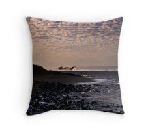 Shipwreck Beach Throw Pillow
