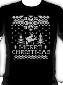 Ugly Sweater - Reindeer Humping T-Shirt