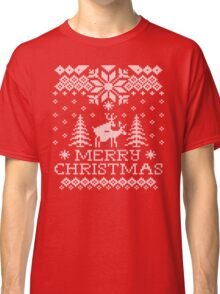 Ugly Sweater - Reindeer Humping Classic T-Shirt